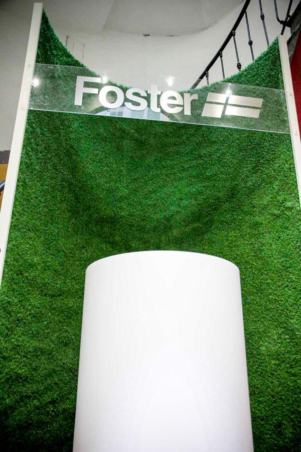 Parete verticale in erba sintetica
